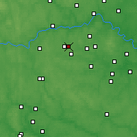 Nearby Forecast Locations - Krasnoznamensk - Mapa