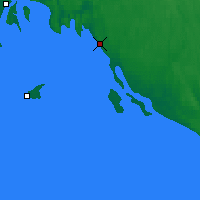 Nearby Forecast Locations - Pitkyaranta - Mapa