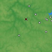 Nearby Forecast Locations - Shchókino - Mapa