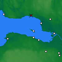 Nearby Forecast Locations - Zelenogorsk - Mapa