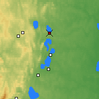 Nearby Forecast Locations - Snezhinsk - Mapa