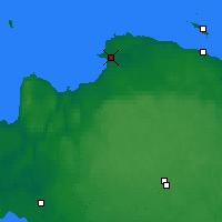 Nearby Forecast Locations - Sosnovy Bor - Mapa