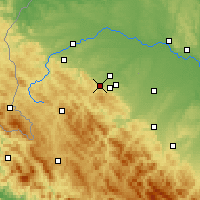Nearby Forecast Locations - Boryslav - Mapa