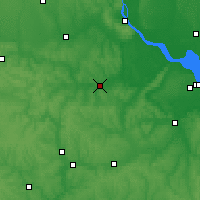 Nearby Forecast Locations - Korsun-Shevchenkivskyi - Mapa