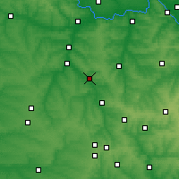 Nearby Forecast Locations - Kostiantynivka - Mapa