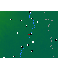 Nearby Forecast Locations - Chandernagor - Mapa