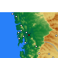 Nearby Forecast Locations - Kalyan-Dombivali - Mapa