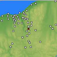 Nearby Forecast Locations - Stow - Mapa