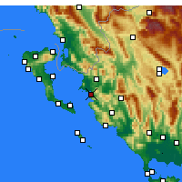 Nearby Forecast Locations - Igumenitsa - Mapa