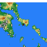Nearby Forecast Locations - Caristo - Mapa