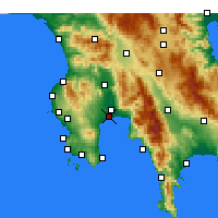 Nearby Forecast Locations - Mesene - Mapa