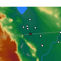 Nearby Forecast Locations - Calexico - Mapa