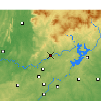 Nearby Forecast Locations - Canton - Mapa