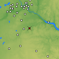 Nearby Forecast Locations - Stanton - Mapa