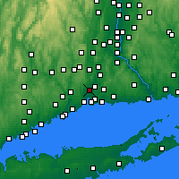 Nearby Forecast Locations - Hamden - Mapa