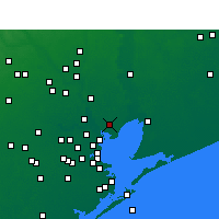 Nearby Forecast Locations - Baytown - Mapa