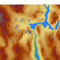 Nearby Forecast Locations - Boulder City - Mapa