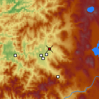 Nearby Forecast Locations - Eagle Point - Mapa