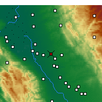 Nearby Forecast Locations - Escalón - Mapa