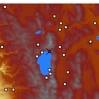 Nearby Forecast Locations - Incline Village-Crystal Bay - Mapa