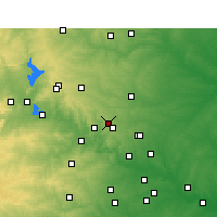 Nearby Forecast Locations - Leander - Mapa