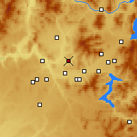 Nearby Forecast Locations - Mead - Mapa