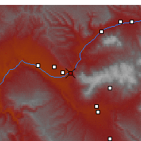 Nearby Forecast Locations - Palisade - Mapa