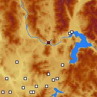 Nearby Forecast Locations - Priest River - Mapa