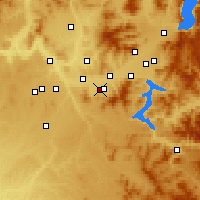 Nearby Forecast Locations - Veradale - Mapa