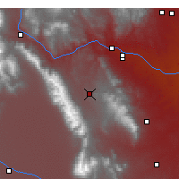 Nearby Forecast Locations - Westcliffe - Mapa